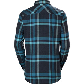 Helly Hansen Classic Check Longsleeve Shirt Dames, north sea blue plaid